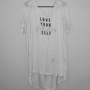 Lane Bryant 'Love Your Fabulous Self' Tee - 22/24
